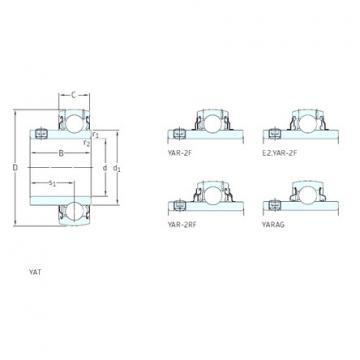 підшипник YAR205-100-2RF SKF
