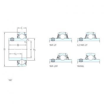 підшипник YAR203/12-2F SKF