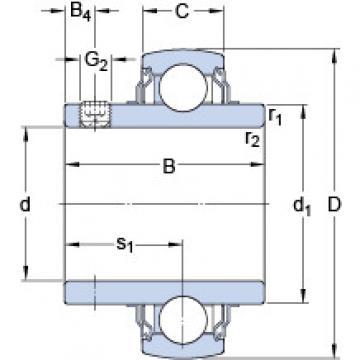 підшипник YAR 212-2FW/VA228 SKF