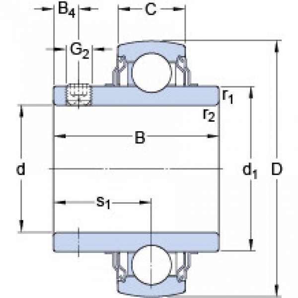 підшипник YAR 210-115-2FW/VA228 SKF #1 image